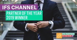 IFS Channel Partner of the year 2019 banner